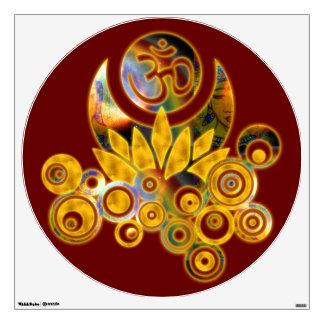 Om Lotus / Lotus Energy Wall Decal