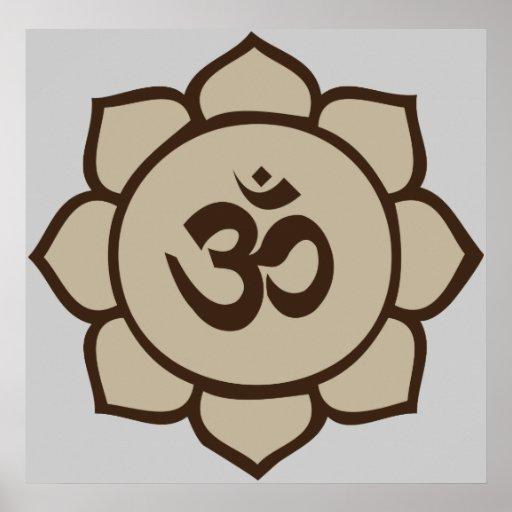 Om Lotus Print