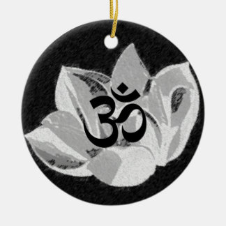 Om Lotus - Yoga Ornament