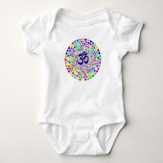 OM Mandala Baby Bodysuit