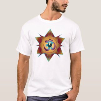 Om Mandala Earth Shades T-Shirt