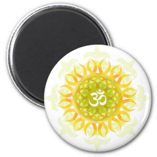 Om Mandala Magnet
