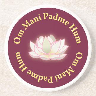 Om Mani Padme Hum Coaster