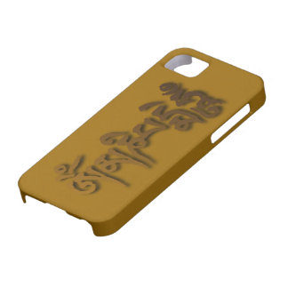 Om mani padme hum iphone 5 cover