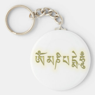 Om Mani Padme Hum Keychain
