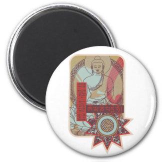 Om Mani Padme Hum Vintage Magnet