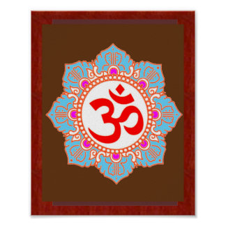 Om Mantra Art:by Navin Joshi, LOWPRICE gifts Poster
