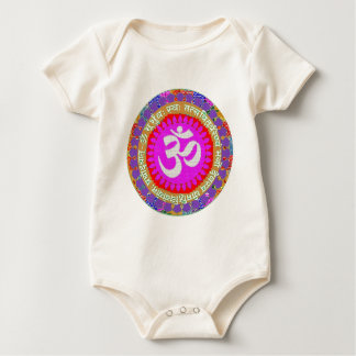 OM MANTRA BABY BODYSUIT