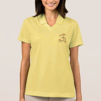 OM Mantra for good luck Polo Shirts