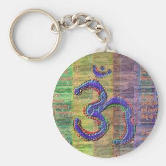OM-Mantra Gayatri-Mantra Together Keychain