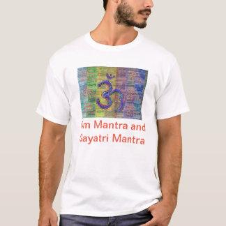 OM-Mantra Gayatri-Mantra Together T-Shirt