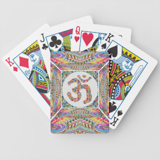 Om Mantra Jewel Collection Bicycle Playing Cards