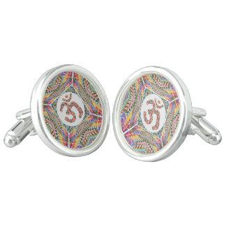 Om Mantra Jewel Collection Cufflinks