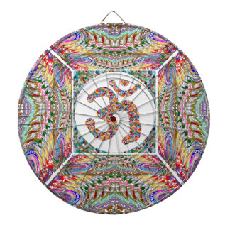 Om Mantra Jewel Collection Dartboard