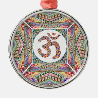 Om Mantra Jewel Collection Metal Ornament