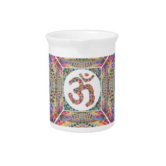 Om Mantra Jewel Collection Pitcher