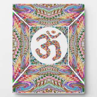 Om Mantra Jewel Collection Plaque