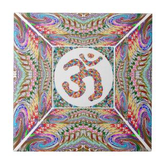 Om Mantra Jewel Collection Tile