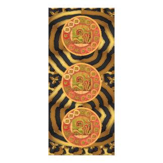 OM Mantra Om108 Hinduism Religious Yoga Meditation Rack Card