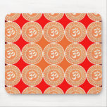 OM MANTRA -  OmMantra ALL OVER Mouse Pad