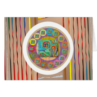 OM MANTRA OmMantra Chant Art Collection Card