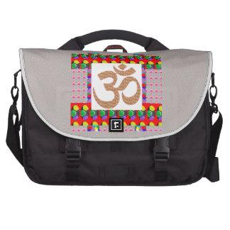 OM Mantra OmMANTRA Yoga Meditation Symbol Hinduism Bags For Laptop