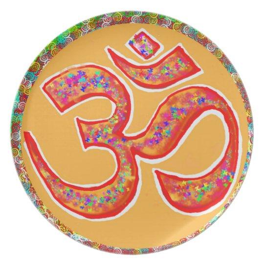 OM MANTRA Symbol : TRUE HOLY ROBE Colour Plate