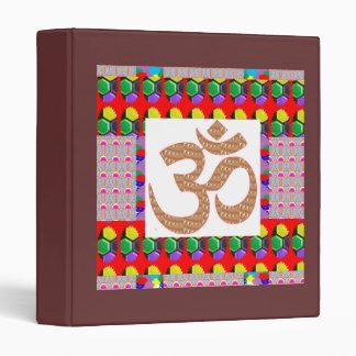 OM Mantra Yoga Meditation Holy NVN198 NavinJoshi Binder