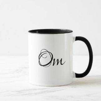 Om Meditation Yoga Woman Coffee Mug