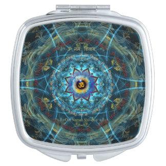 """""""Om Namah Shivaya"""" Mantra- The True Identity Travel Mirror"""