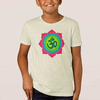 Om Namaste Lotus Children's Organic Shirt