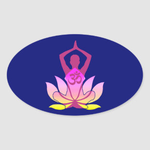yoga pose stickers  zazzle ca