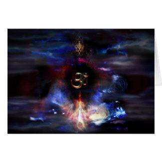 Om Nebulae Card