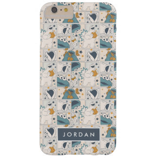 Om Nom Nom Comic Pattern | Add Your Name Barely There iPhone 6 Plus Case
