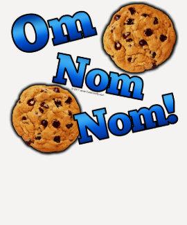 Om Nom Nom Meme Love Cookies Shirts