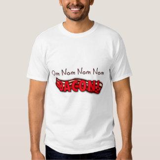 Om Nom Nom Nom Bacon T Shirt