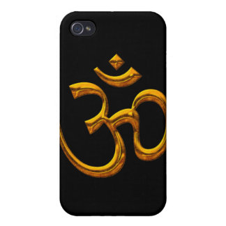 OM, Old Gold Effect, Iphone 4 Speck Case iPhone 4/4S Case