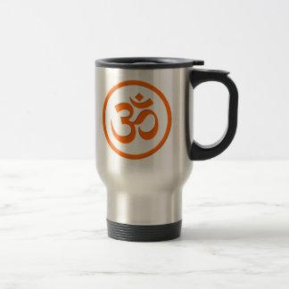 Om or Aum Travel Mug