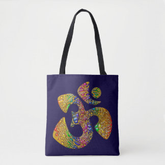 OM Ornaments + your backgr. & ideas Tote Bag