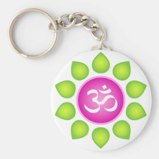 Om Power Keychain