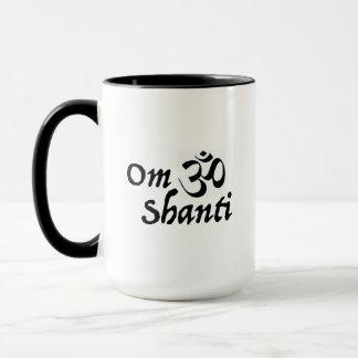 Om Shanti Mug