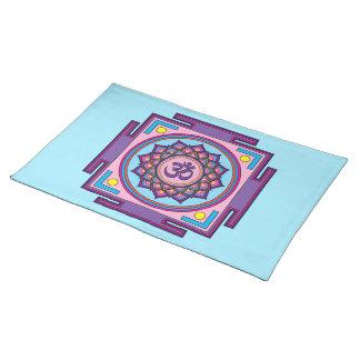 Om Shanti Om Mandala Placemat