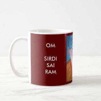 OM SIRDI SAI RAM - SAI BABA CLASSIC WHITE COFFEE MUG