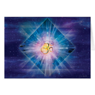 Om Space Cube Card