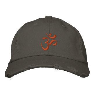 Om Symbol Embroidered Hat