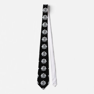 OM Symbol Lotus Spirituality Yoga Crest Tie