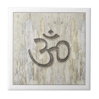 Om Symbol Organic Tile