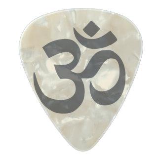 Om Symbol & Quote On Back Guitar Pick