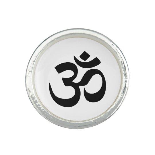 Om Symbol Ring