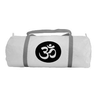 Om Symbol Yoga Gym Bag